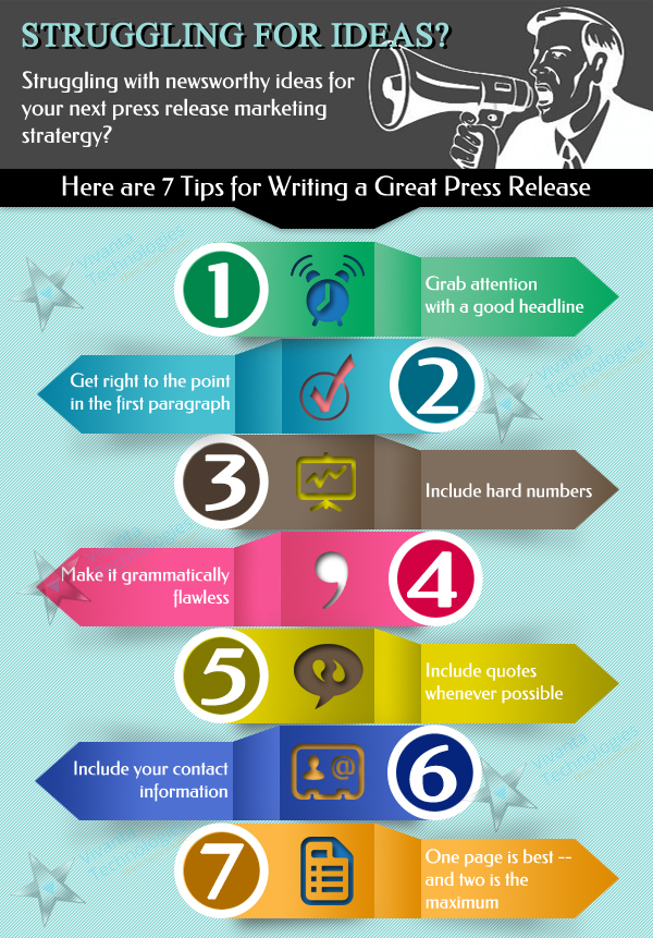 7 Tips for Press Release Writing